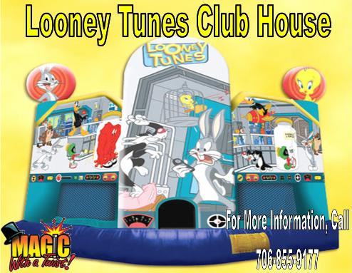 Looney Tunes Bounce3 | Inflatable Rentals