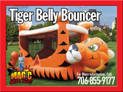 Tiger Belly1 | Inflatable Rentals
