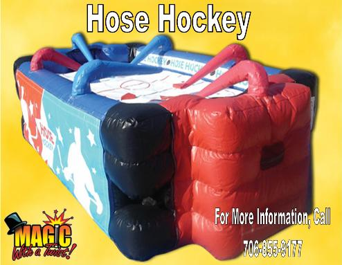 Hose Hockey1 | Inflatable Interactive Rental Games