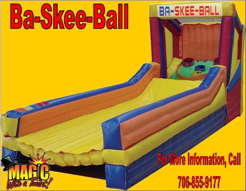 Ba-Skee-Ball1 | Inflatable Interactive Rental Games